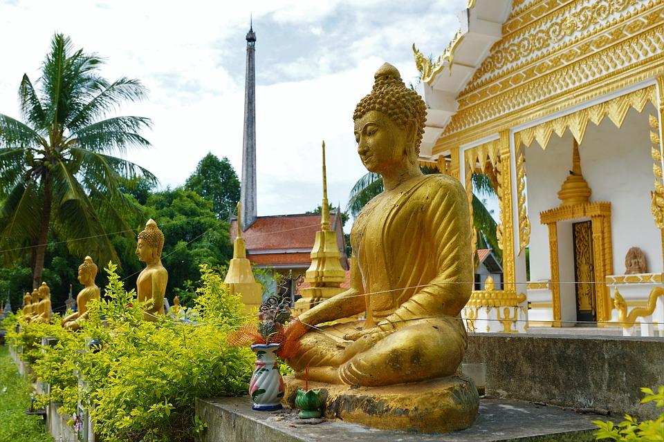 Buddha, Temple, Religion, Statue, Architecture, Wat