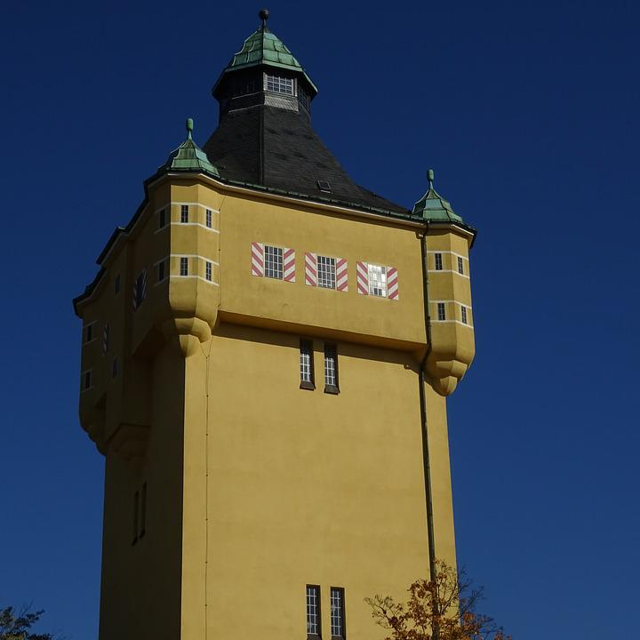 Water Tower, Tower, Water Storage, Architecture
