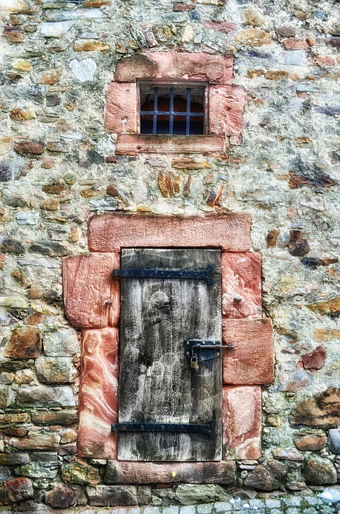 Germany, Building, Stone, Window, Architecture, Stones