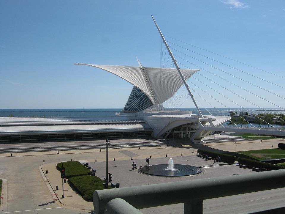 Milwaukee, Museum, Wisconsin, City, Architecture