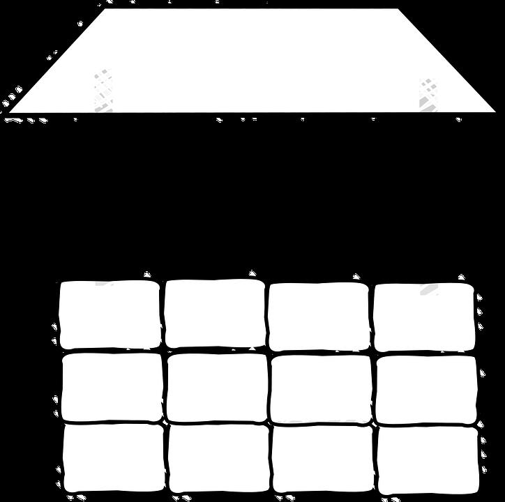 Well, Wishing, Bricks, Roof, Crank Handle, Architecture