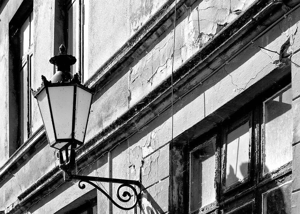 Lantern, Wismar, Old, Old Town, Architecture