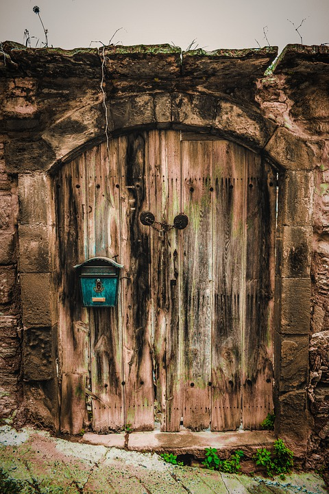Door, Old, Architecture, Gate, Wooden, Aged, Weathered