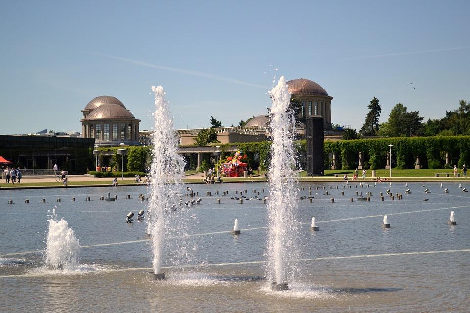 Fountain, Architecture, Wrocław, Poland