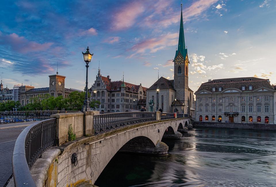Zurich, City, Switzerland, Architecture, Building