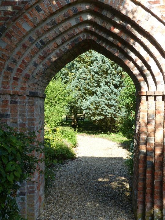 Arch, Garden, Gateway, Arched, Archway