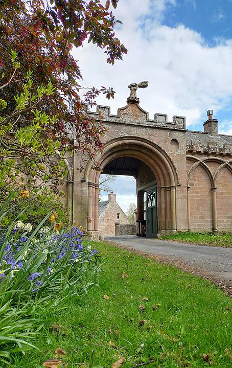 Judge Nought, Arch, Archway, Building, Old