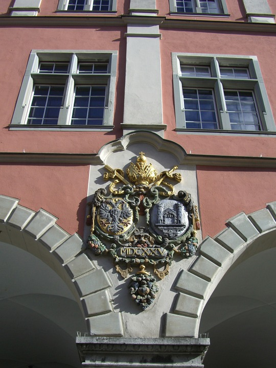 Ravensburg, Old Theater, Archway, Facade, Early Baroque