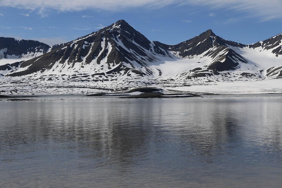Svalbard, Ice, Arctic, Landscape
