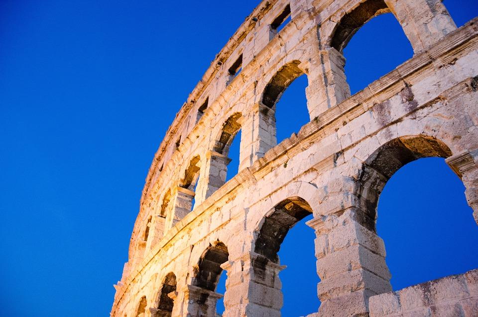 Arena, Building, Roman, Old, Roman History, Antique