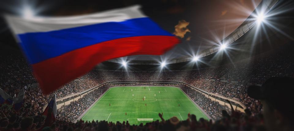 Fans, Arena, Football Stadium, Football Field, Ball
