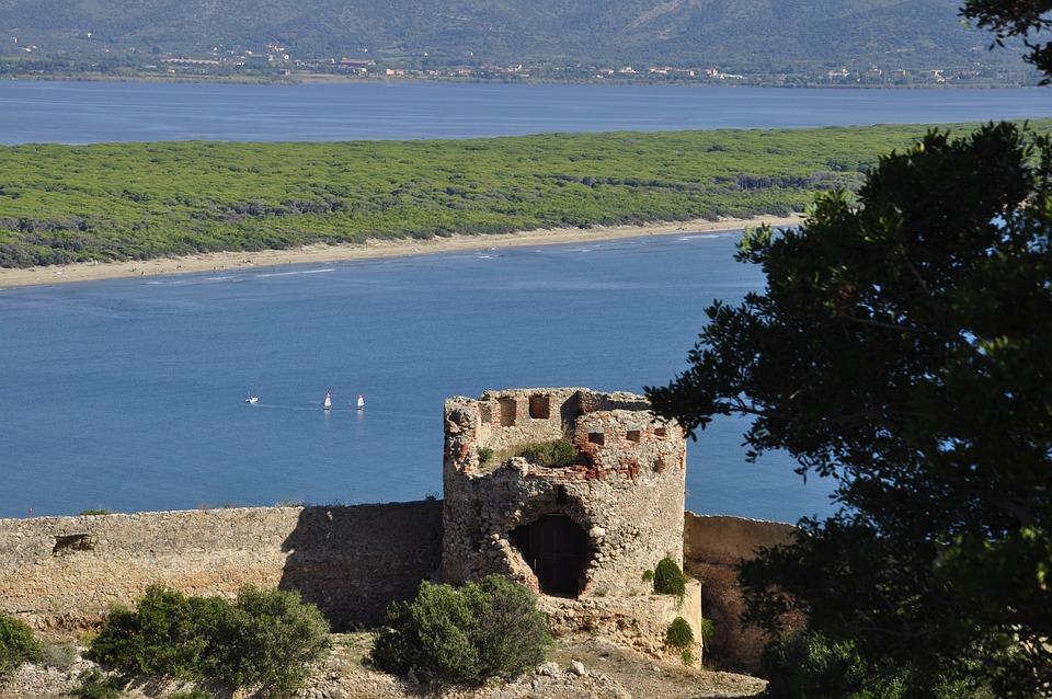 Argentario, Tuscany, Sea, Laguna, Summer, Tourism
