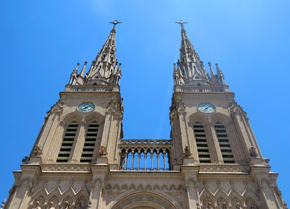 Basilica, Our Lady Of Luján, Towers, Argentina