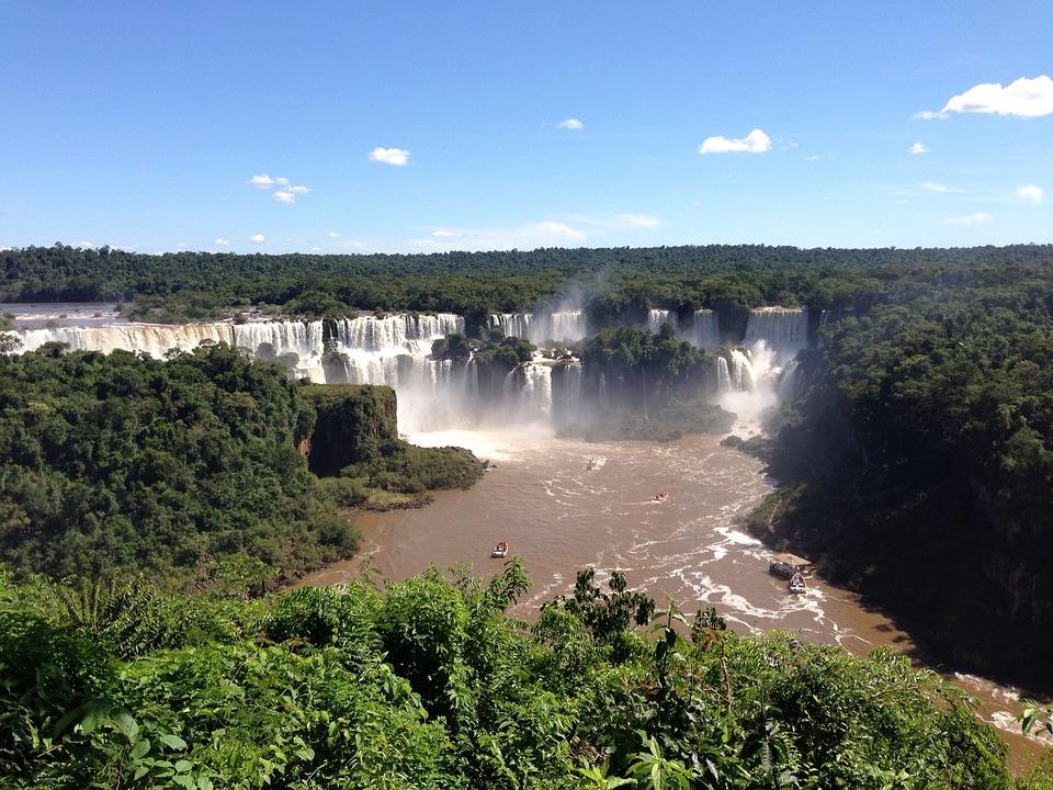 Waterfall, Iguazú, Argentina
