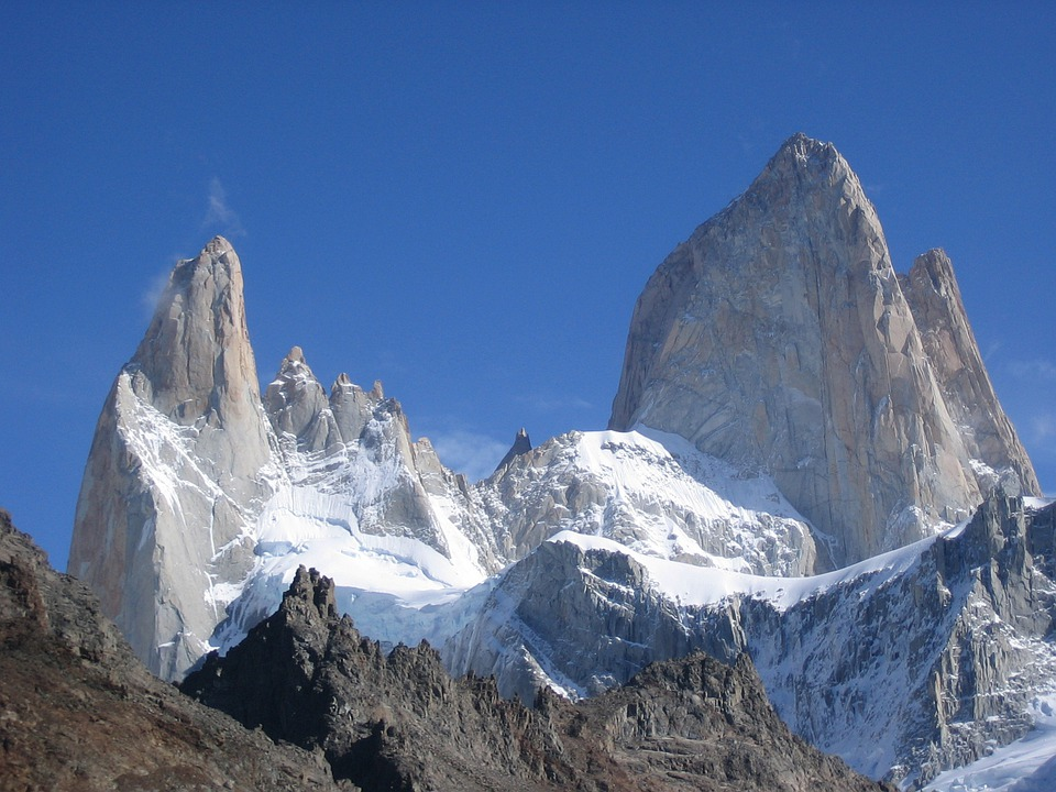 Fitz Roy, Cerro Torre, Mountains, Argentina