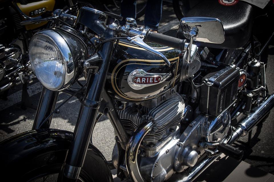 Ariel, Motorcycle, Oldtimer, Vehicle, Old