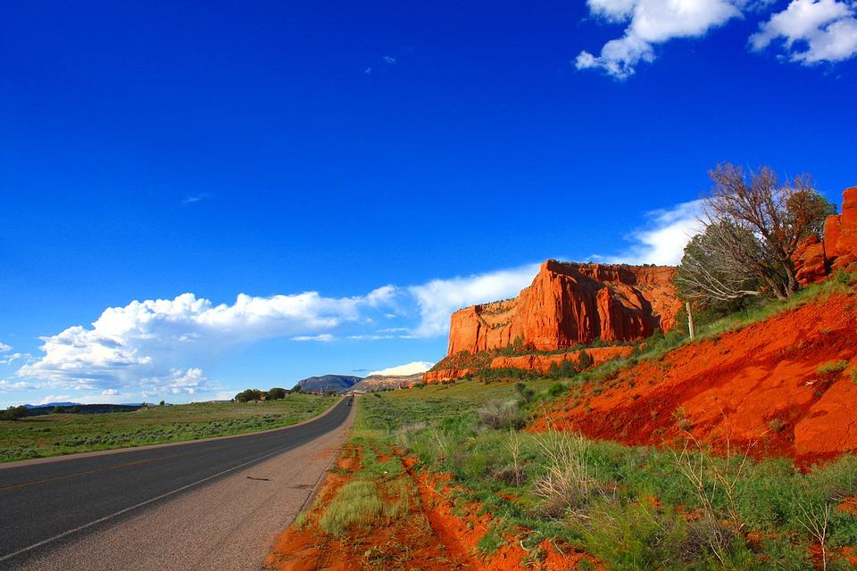 Road, Usa, Arizona, America