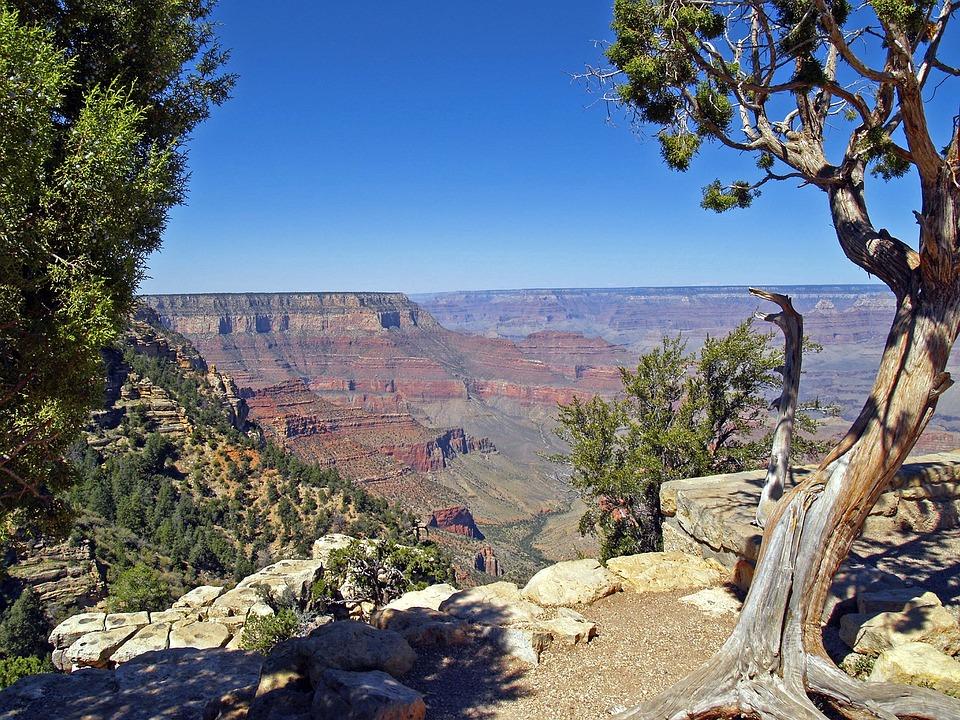Grand Canyon, Arizona, Usa, Tourist Attraction