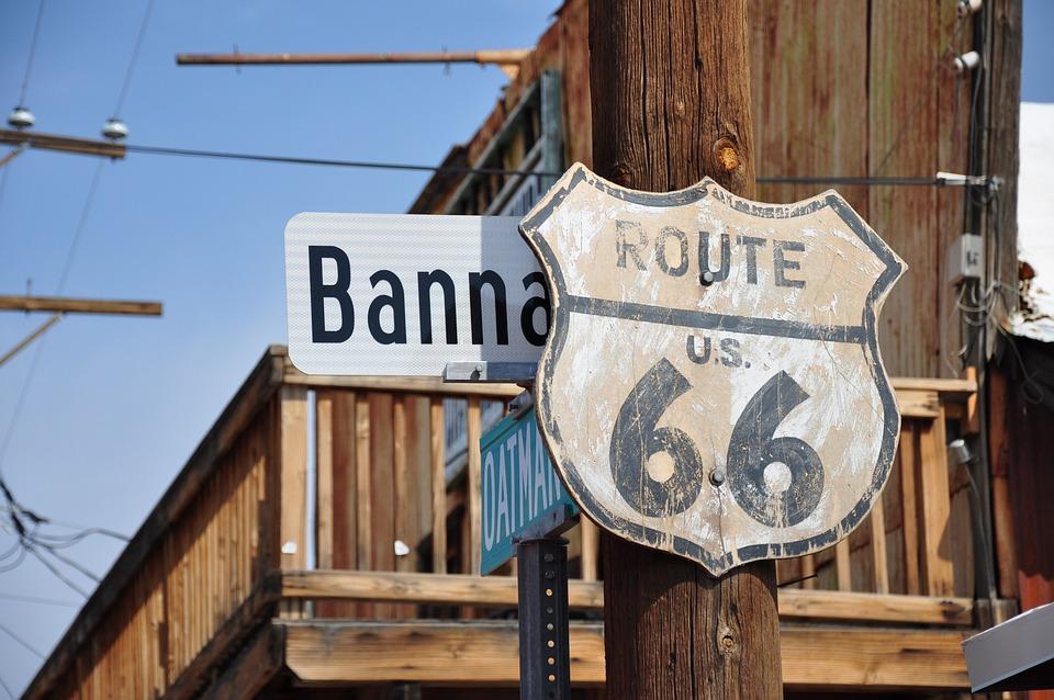 Route66, Arizona, Usa, Auto, Vintage, Travel, Classic