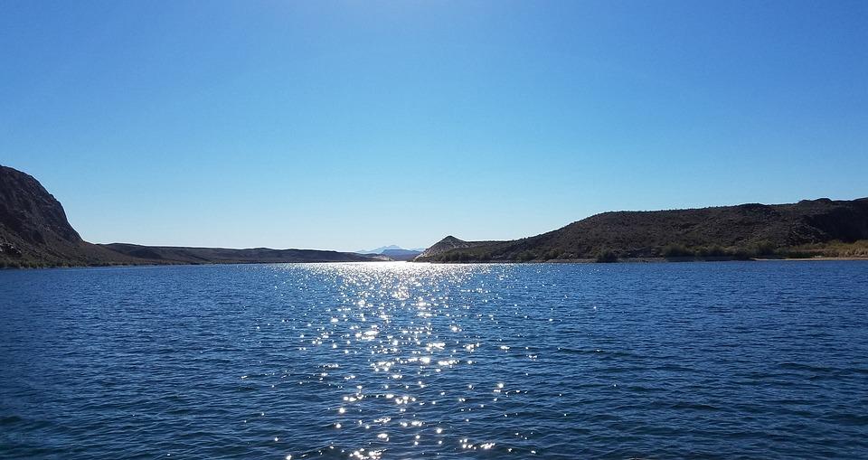 Willow Beach Colorado River Arizona Boat Rock