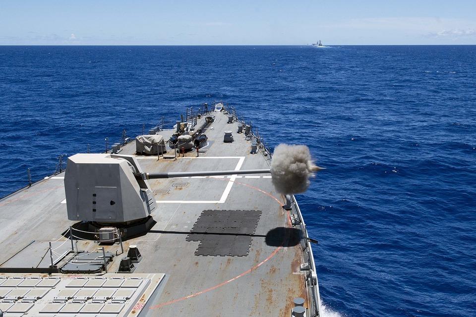 Main Gun, Live-fire, Arleigh Burke Class Destroyer