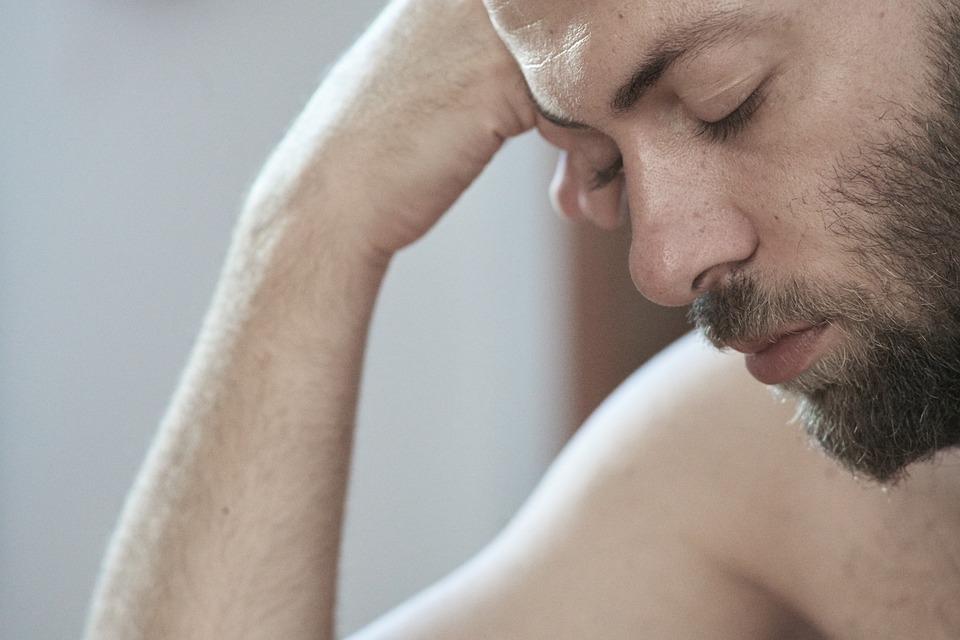 Male, Arm, Beard, Head, Overview, Sleep, Relax, Eyes