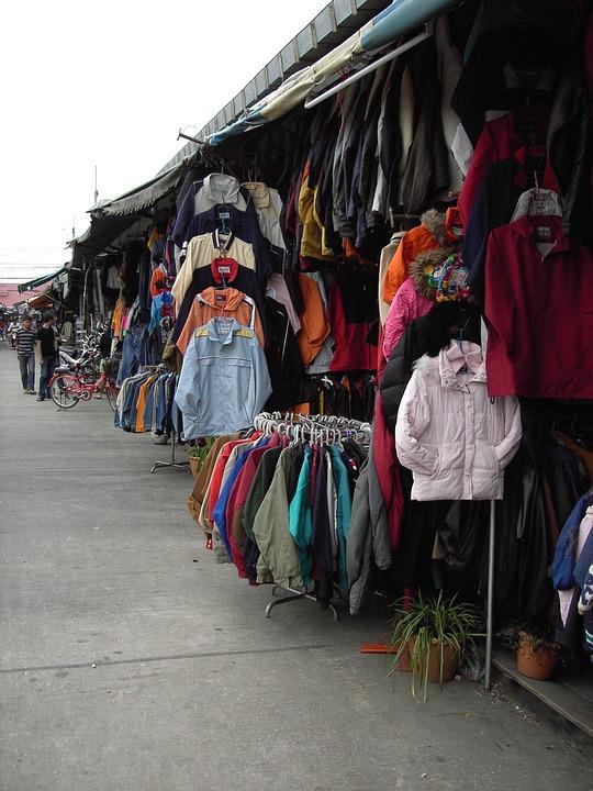 Market, Thailand, Street Scene, Arm, Sell, Asia, Road