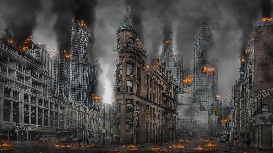 Apocalypse, War, Disaster, Destruction, Armageddon