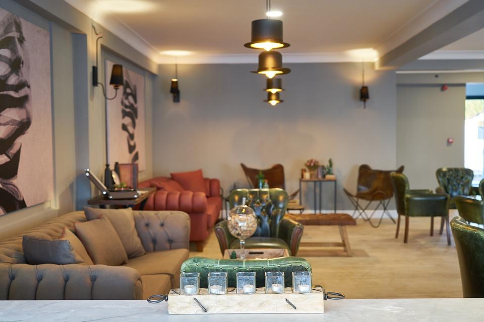 Furniture, Armchair, Chair, Lobby, Home, Hotel
