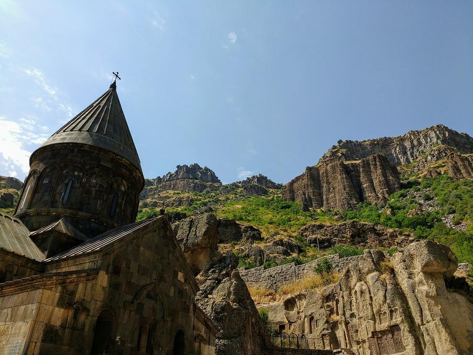 Armenia, The Monastery Of Geghard, Unesco