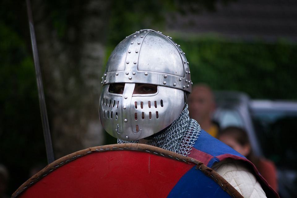 Helm, Armor, Competition, Human