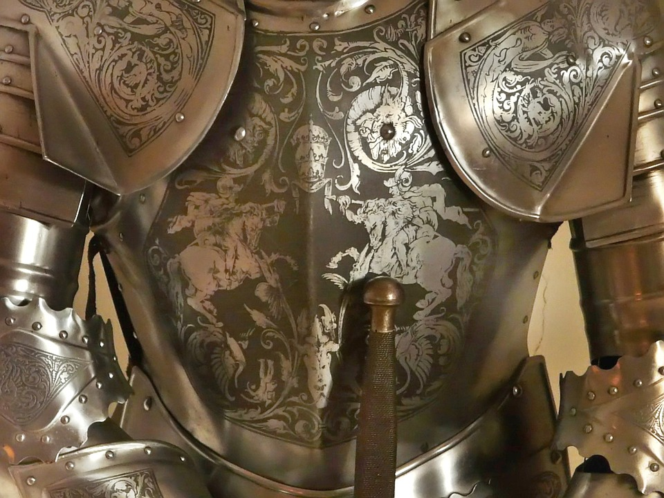 Harnisch, Armor Knight, Weapons, Middle Ages, War