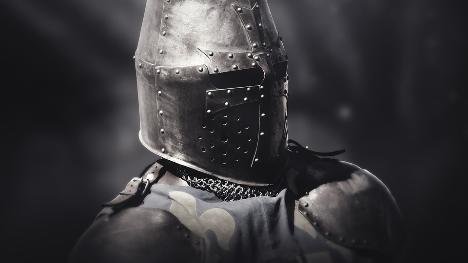 Warrior, Knight, Armor, Middle Ages, Man, History