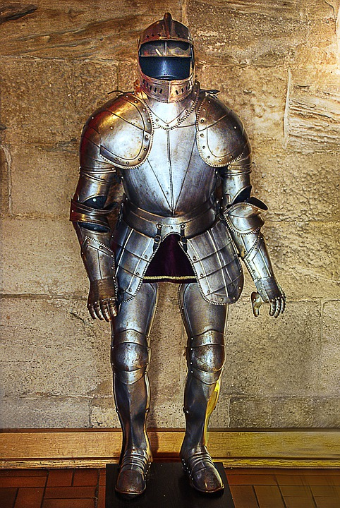 Knight, Armor, Middle Ages, Metal