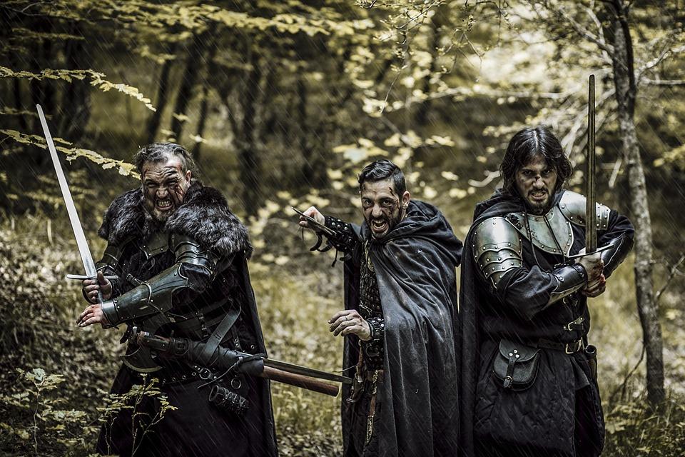 Medieval, Knights, Warriors, Sword, Armor, Battle, War