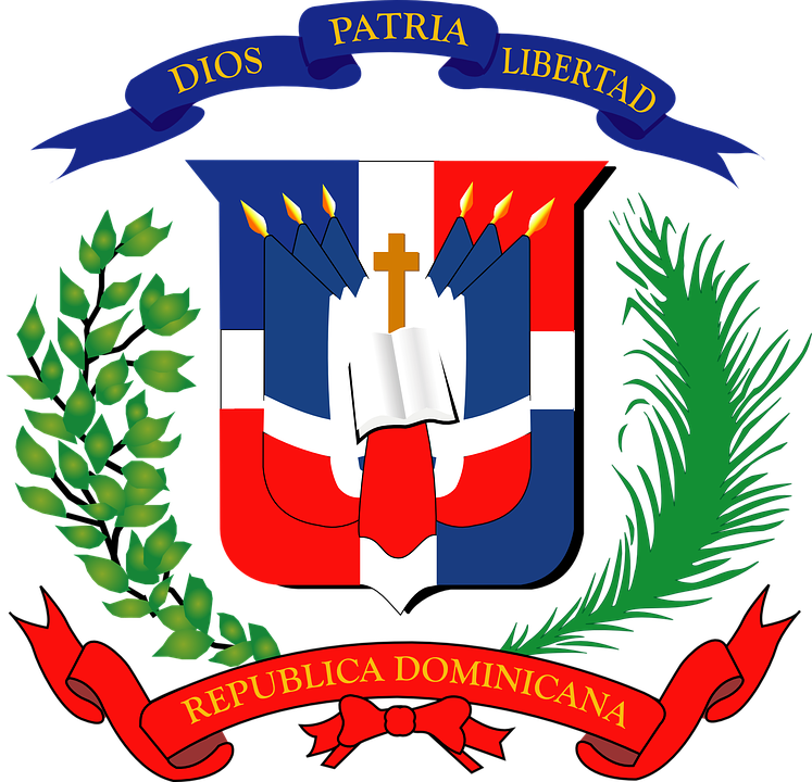Dominican, Republic, Coat Of Arms, Coat, Arms