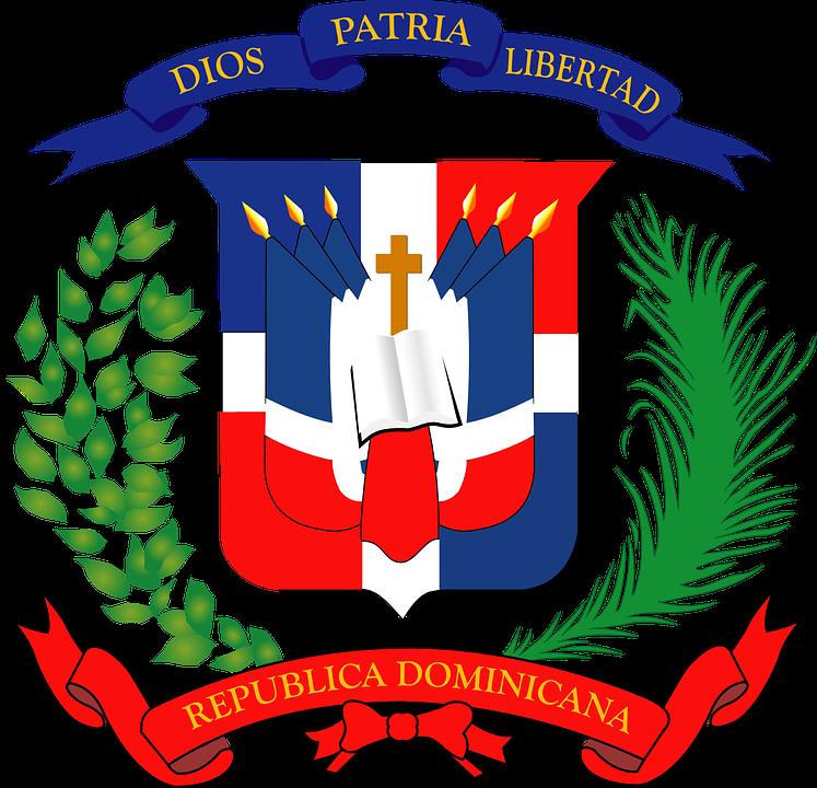 Dominican, Republic, Coat Of Arms, Coat, Arms