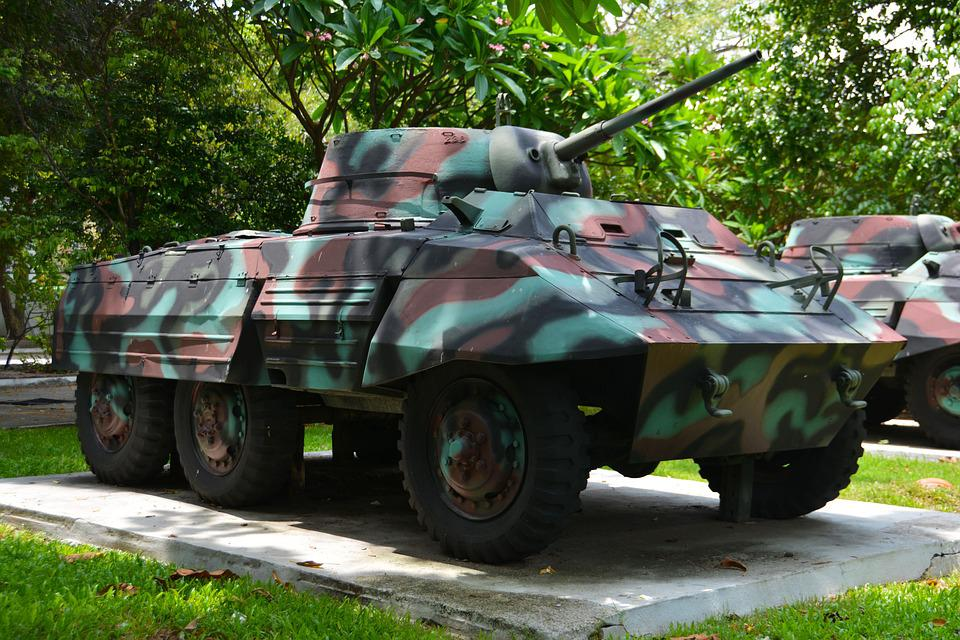 Tank, Armored Car, Military, War, Army, Vehicle, Weapon