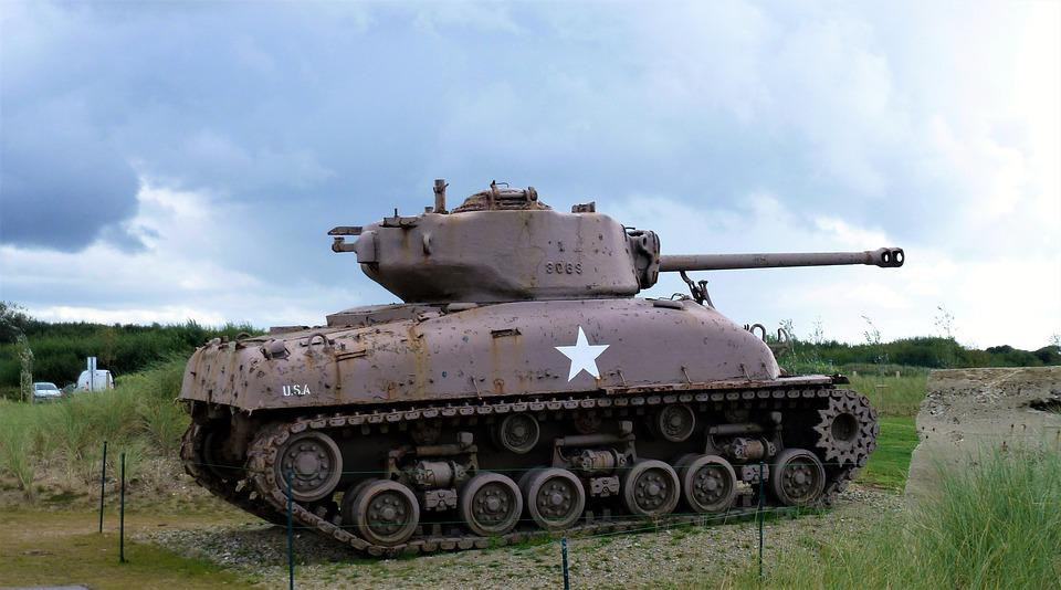 Transport, France, Normandy, War, Tank, Military, Army