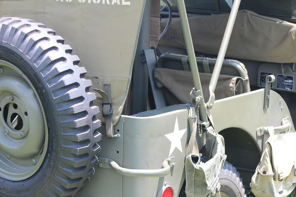 Jeep, Military, Army, War, Car, Vehicle, Transport