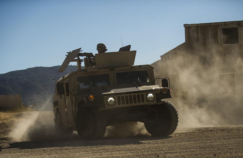 Humvee, U, S, Army Reserve
