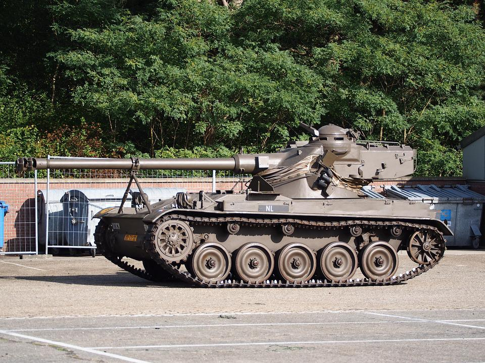 Amx 13, Tank, Dutch, Army, Museum, Armored, Artillery