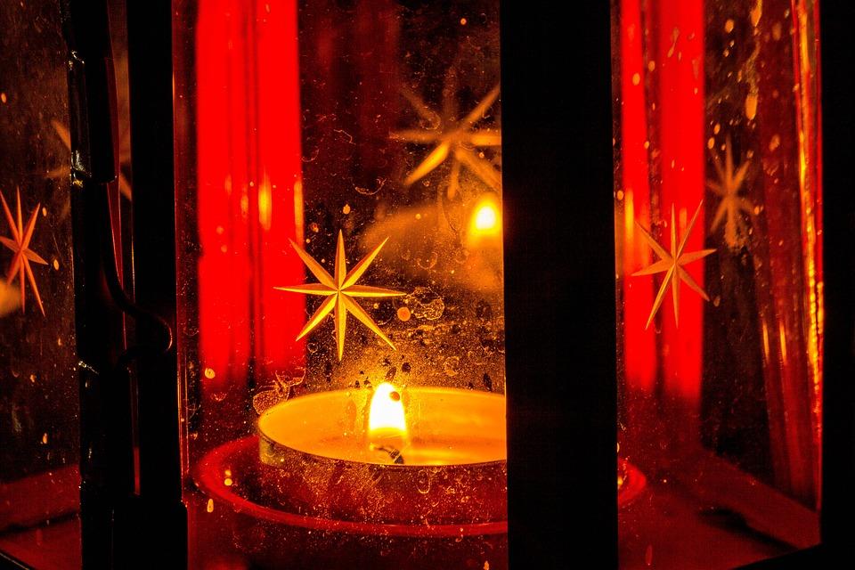 Lamp, Ikea, Candle, Aroma, Light, Luxury