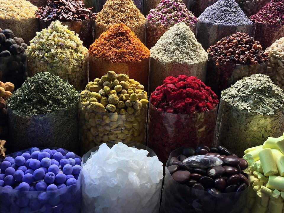 Food, Market, Spices, East, Aroma, Spice, Trade, Bazaar