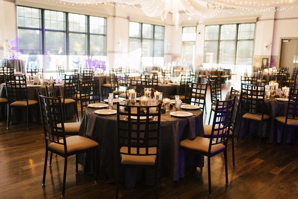 Tables, Decor, Wedding, Arrangement, Decoration