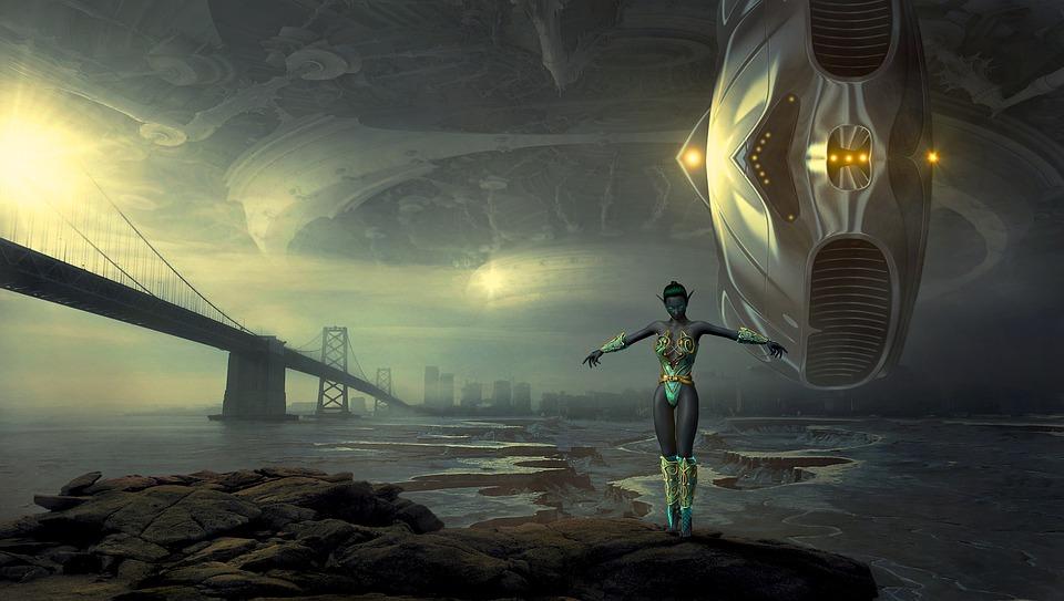 Fantasy, Forward, Science Fiction, Arrival, Composing