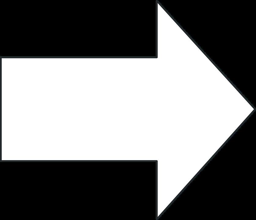 Arrow, Black, Right