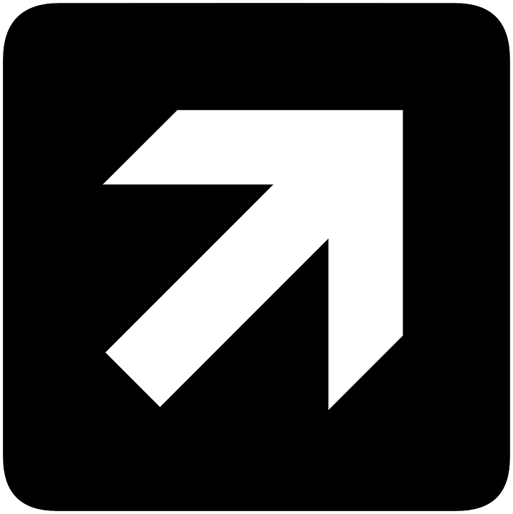 Arrow, Forward, Right, Signs, Symbol, Black Arrow