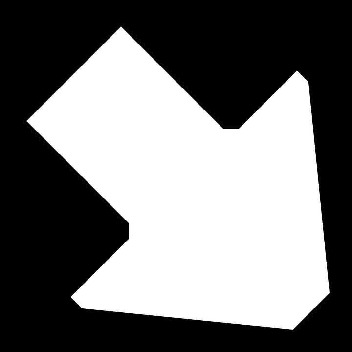 Arrow, Right, Down, Sign, Symbol, Icon
