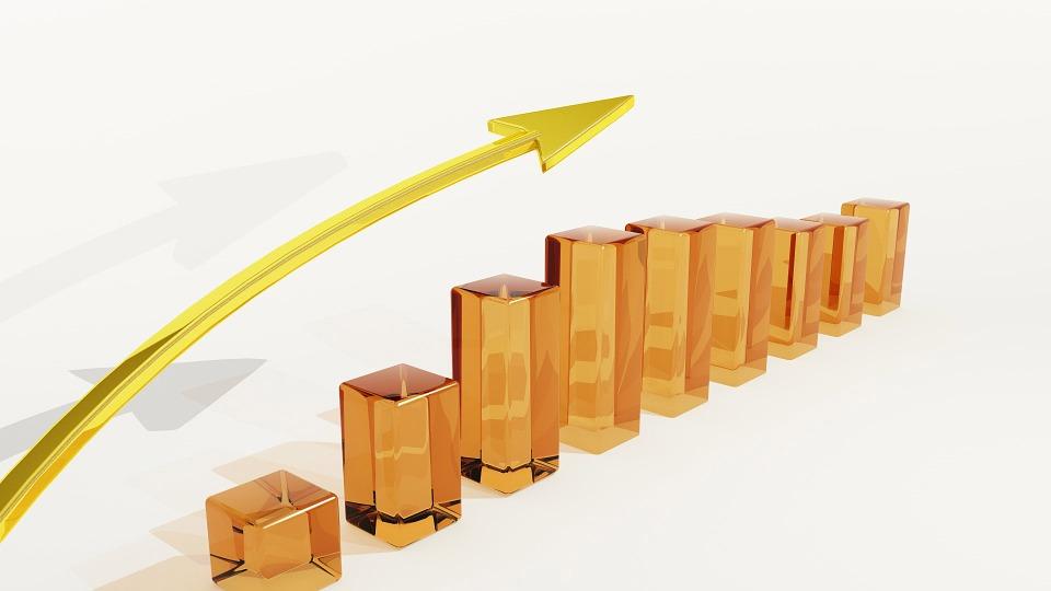 Business, Risk, Luck, Chart, Arrow, Wealth, Finance